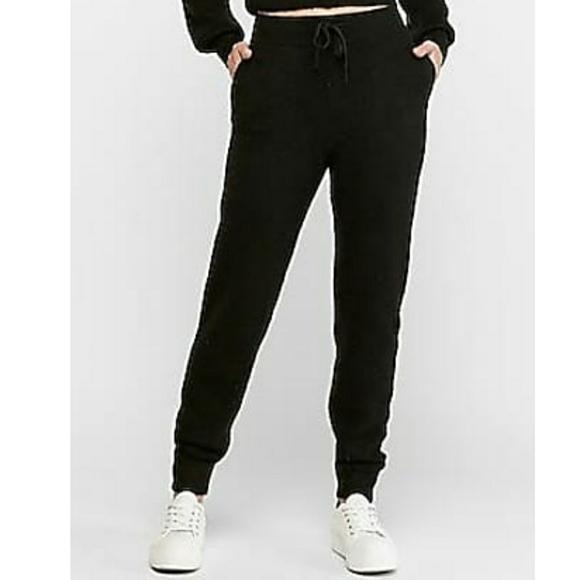 NWT EXPRESS   High Waist Cozy Sweater Jogger Pants